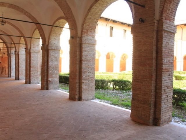 Chiostro di Sant'Agostino e Sala delle Colonne