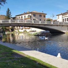 Area del ponte romano