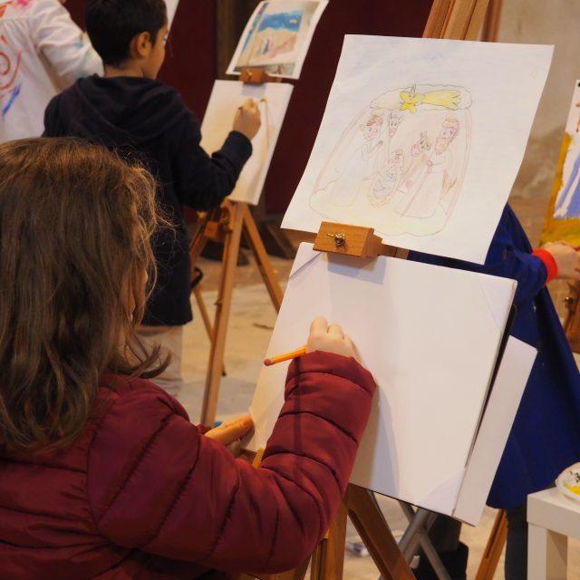 Il presepe nei colori di bambini e ragazzi. Tanta partecipazione al primo contest di pittura della «Valle»